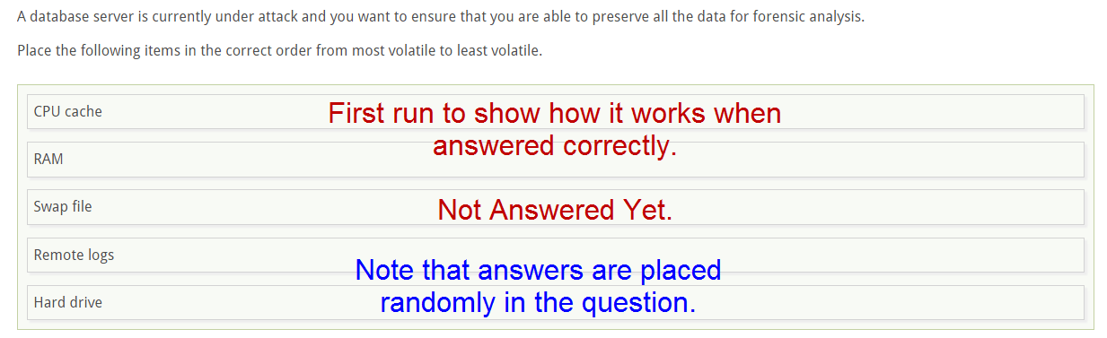 correct or correctly