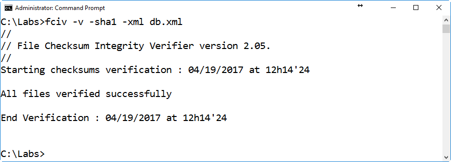 Using the File Checksum Integrity Verifier|Get Certified Get