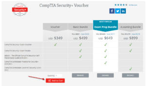 Security+ Voucher